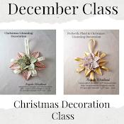DECEMBER DECORATION CLASS