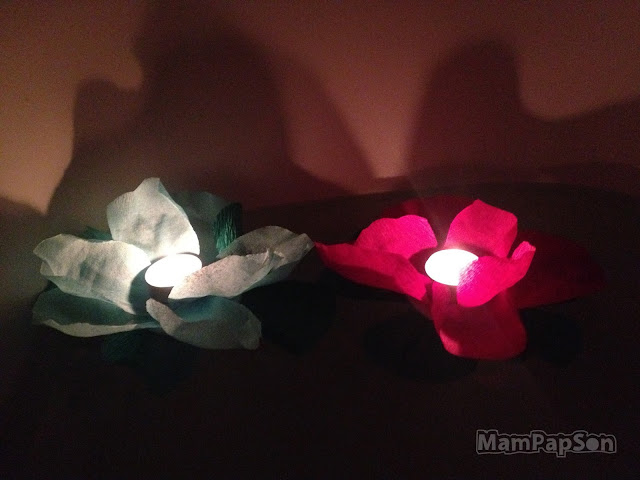 Водные фонарики своими руками