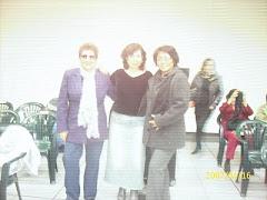 Con Norka Brios y Lucrecia Woolcott