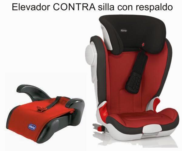 Pekenova diferencias entre elevador y silla coche con respaldo - Silla ninos coche ...