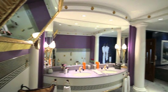 Bathroom Kings bathroom design in royal suite dubai, super luxury and amazing