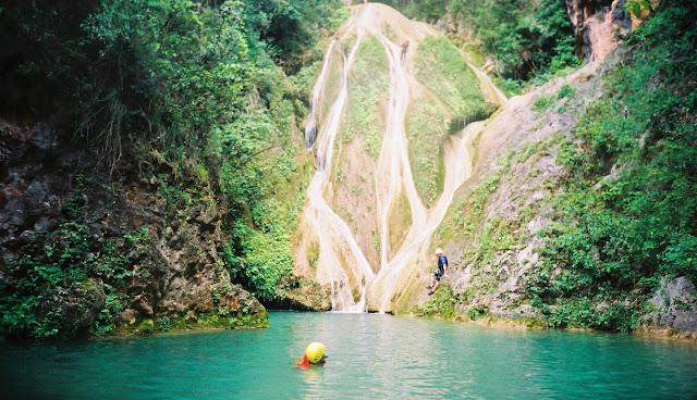 El Cañón del Chipitín en la Sierra Madre, cerca de Puerto Vallarta