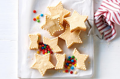 Christmas pinata stars recipe
