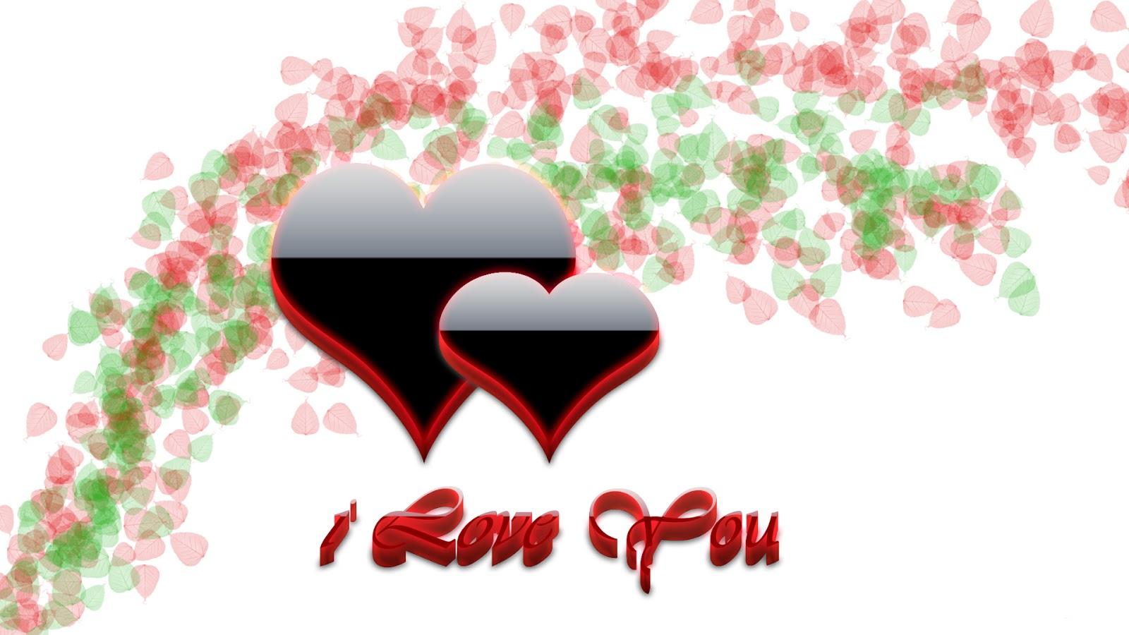 I Love You 3D Wallpaper HD