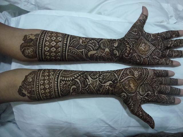 Mehndi Front Side : Indian bridal mehndi design photos hd wallpaper collection