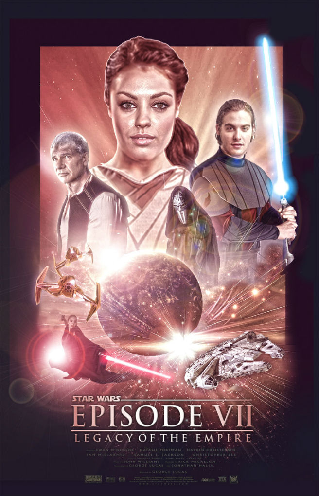 Social diary star wars episode vii legacy of the empire fan made