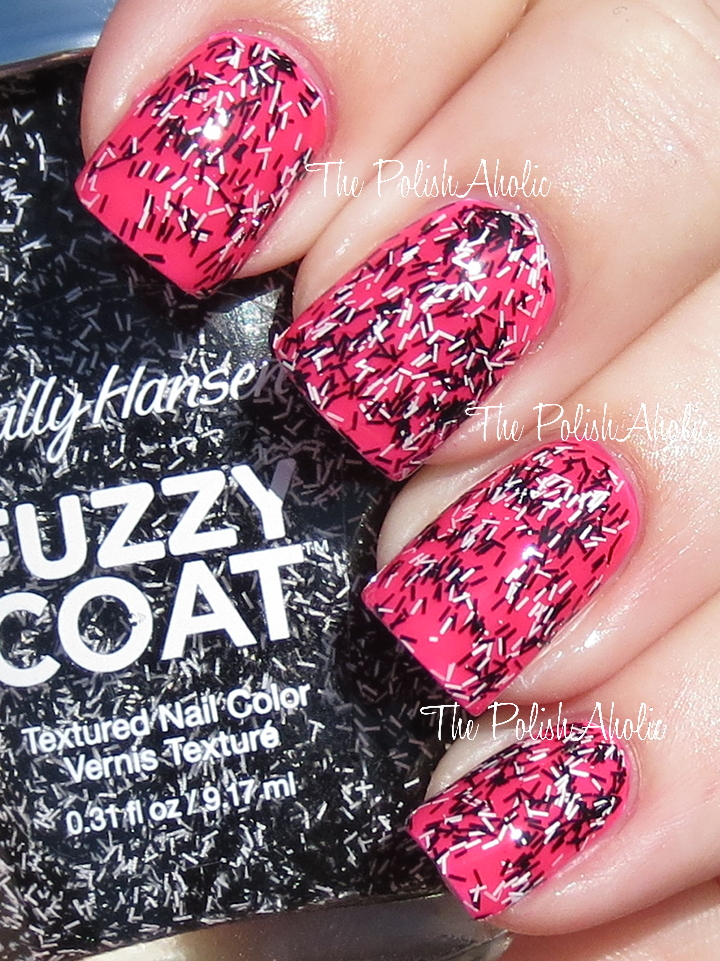 The PolishAholic: Sally Hansen Fuzzy Coat Swatches & Review