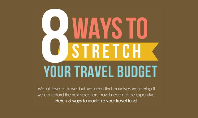 8 Ways to Stretch Your Travel Budget
