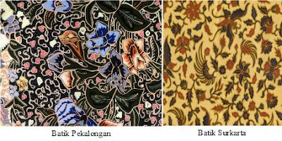 Di Indonesia batik dibuat di berbagai daerah, terutama di Pulau Jawa ...