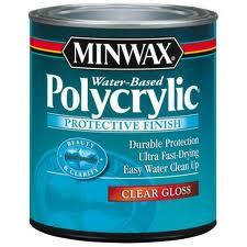 Minwax Ploycrylic