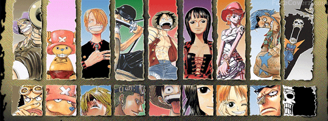 Capas para Facebook do One Piece