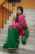 Priyanka Gorgeous Photos in Saree-thumbnail-3