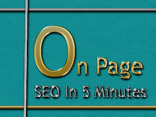 On Page SEO in 5 Minutes