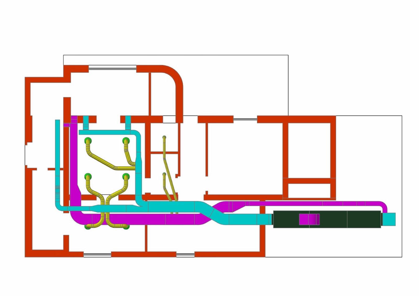 Microclimaenergia impianto climatizzazione in locali for Impianto climatizzazione