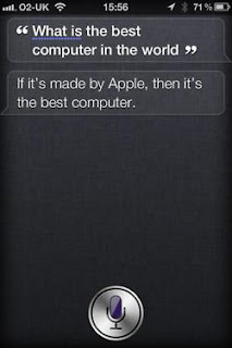 Siri: What is the best computer in the world?