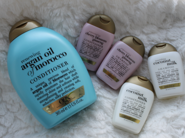 Organix Shampoo's & Conditioners.
