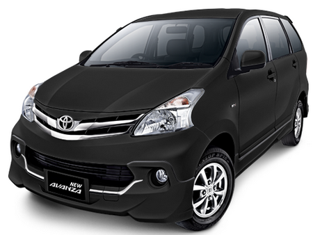 Toyota All New Avanza Black Metalic