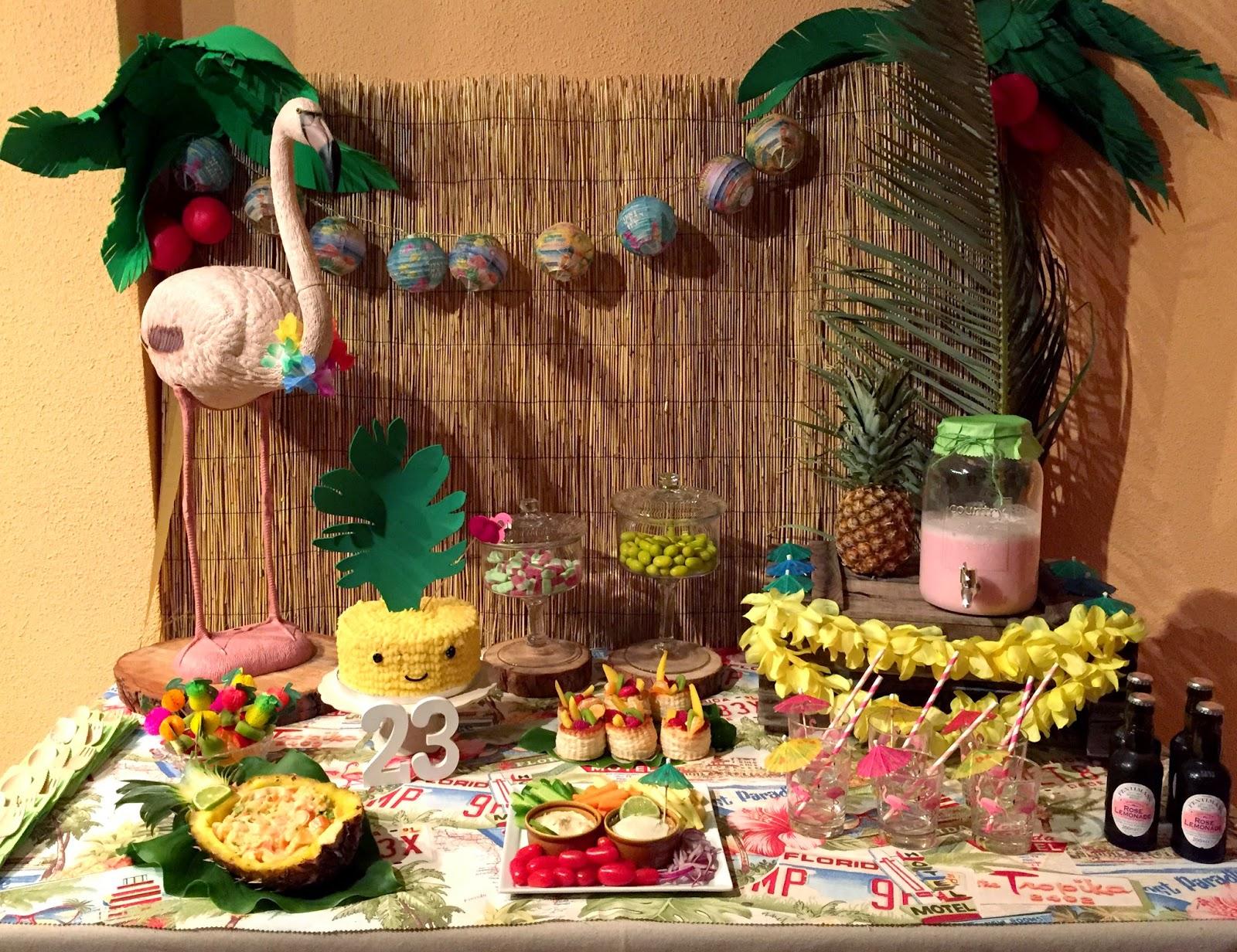 Si es fiesta es fiesta la fiesta hawaiana for Como hacer una fiesta de 15