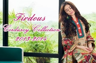Firdous Corduroy Collection 2013-2014
