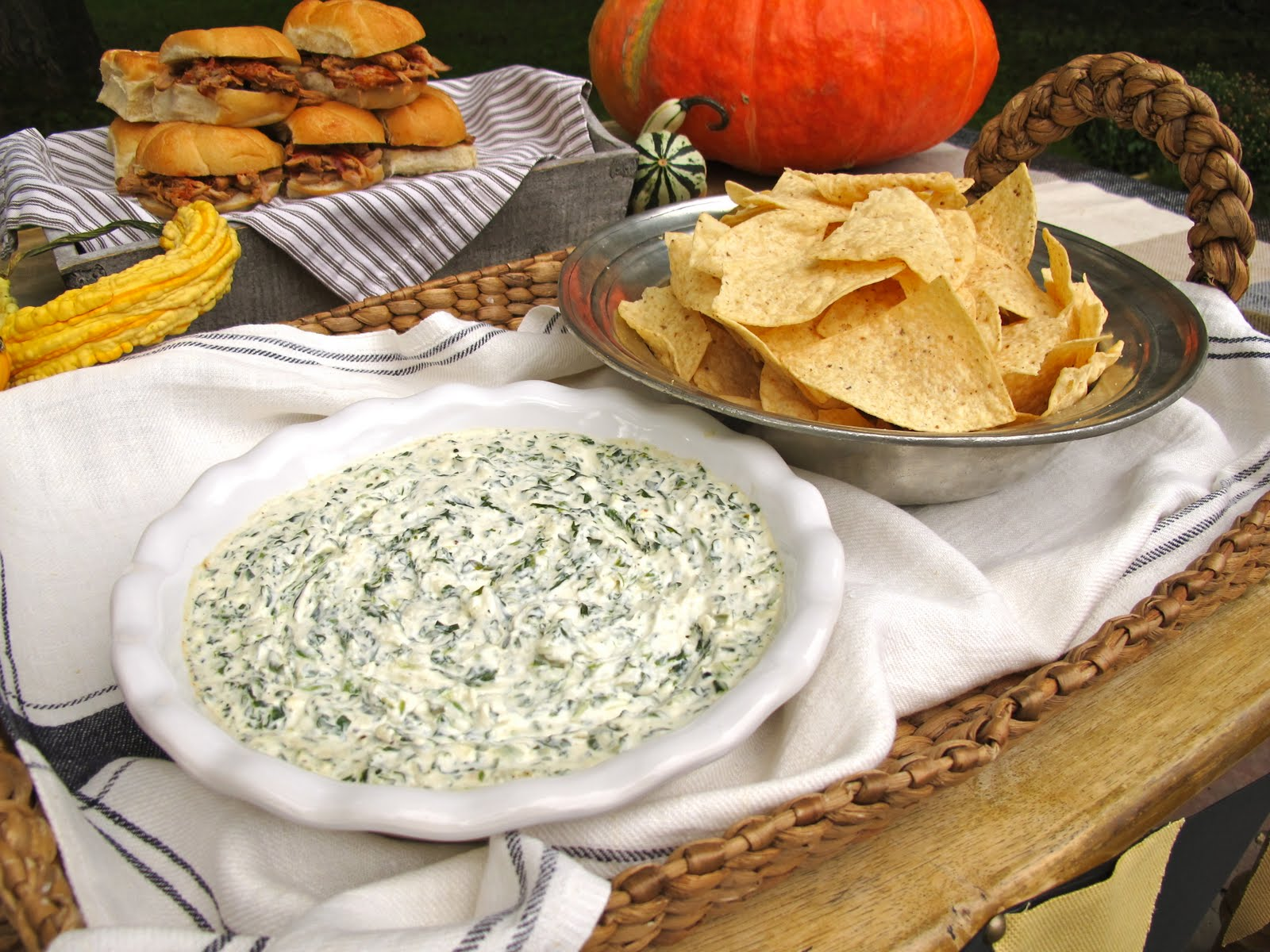 ... chips and dips my favorite dip of all time is classic creamy spinach