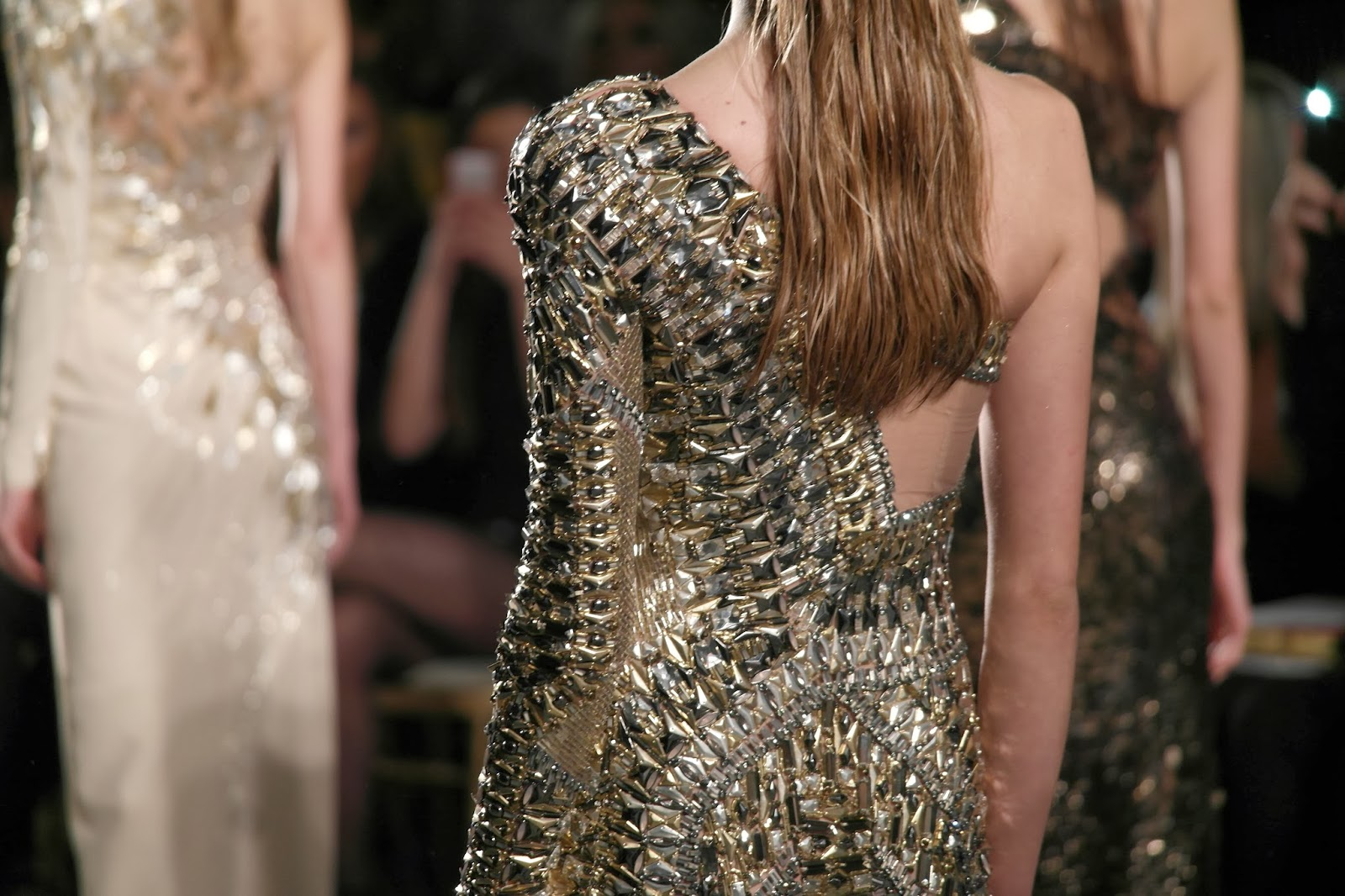 LFW dresses Julien Macdonald