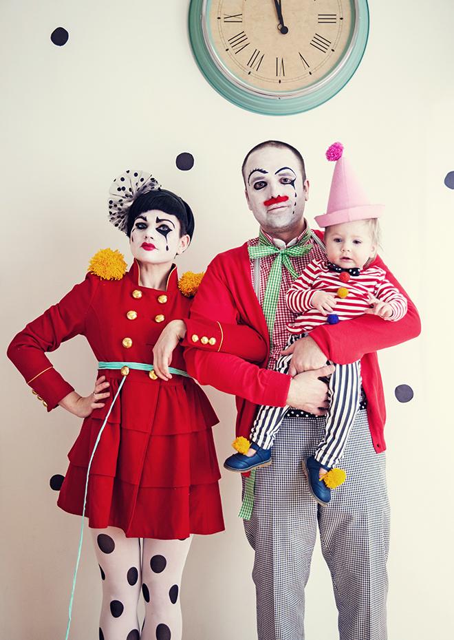 Halloween: clowns