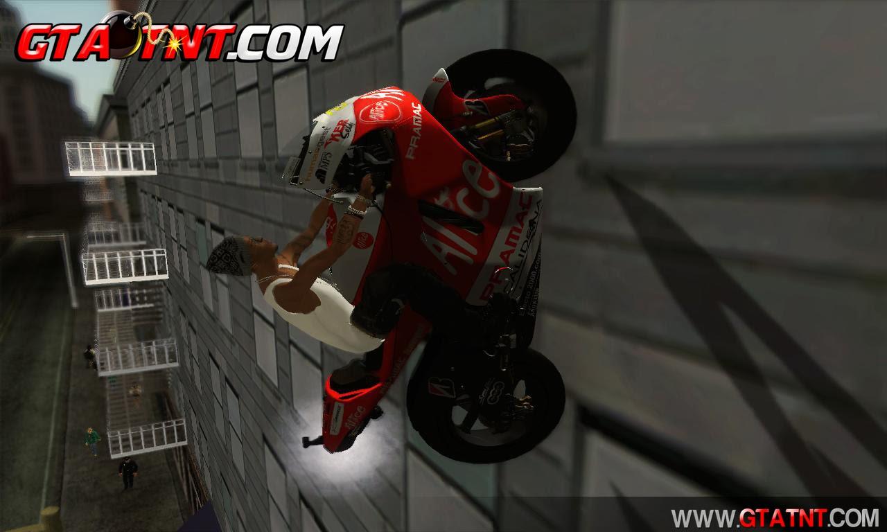 GTA SA - Mod andar em paredes V2.0