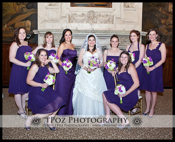 Belvedere Hotel Baltimore Wedding Photos