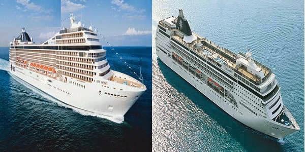 MSC Cruise Line Cruise Ships