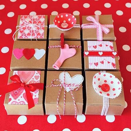 Оригинални опаковки за подаръци за Свети Валентин