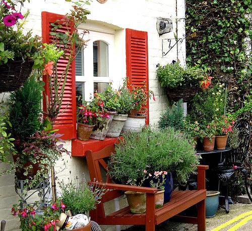 Cottage Garden: Garden ideas: Features and Structures