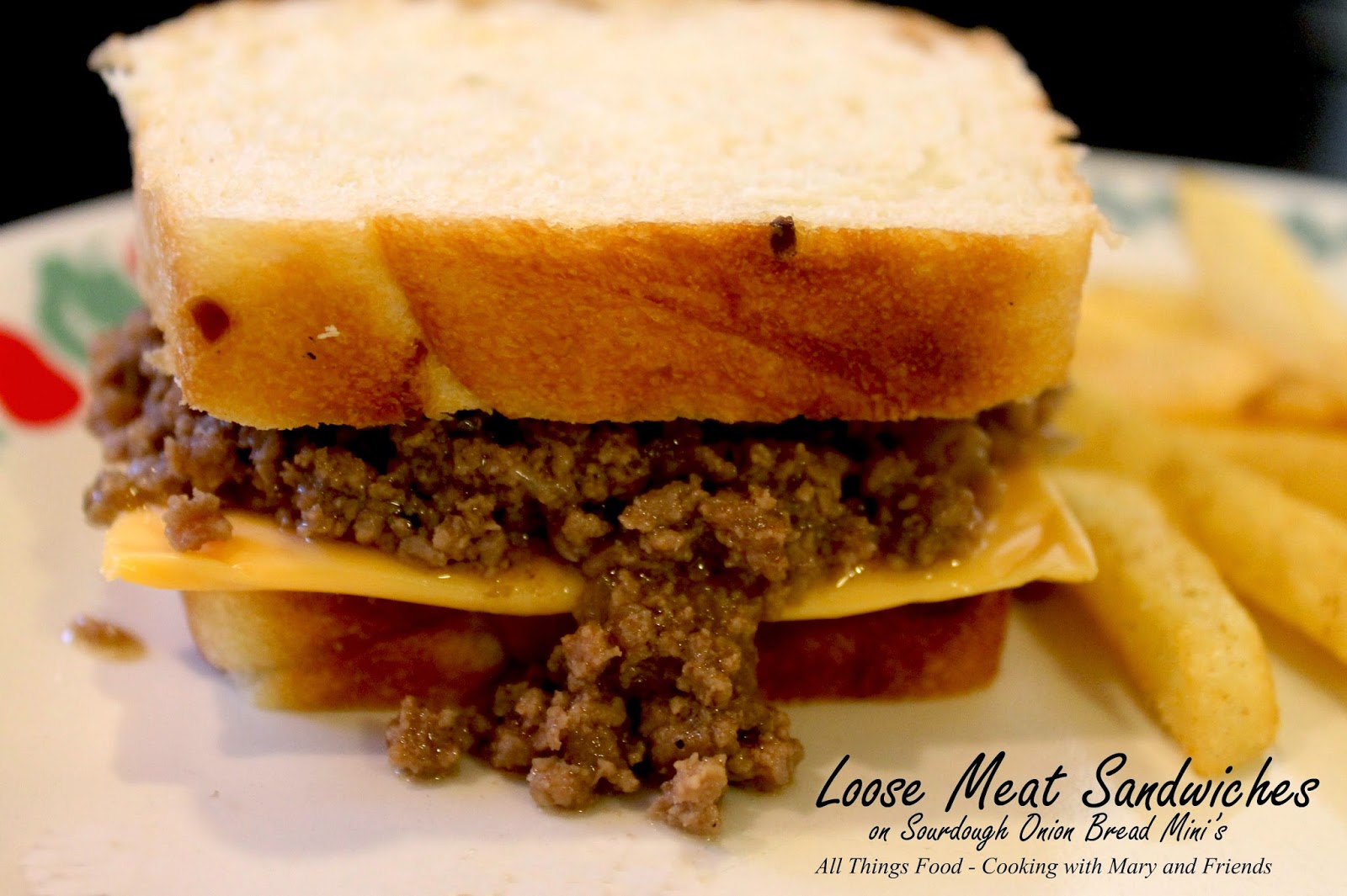 how to make loose meat sandwiches