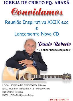 Convite lançamento CD