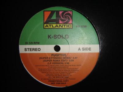 K-Solo – Fugitive (1990) (VLS) (320 kbps)