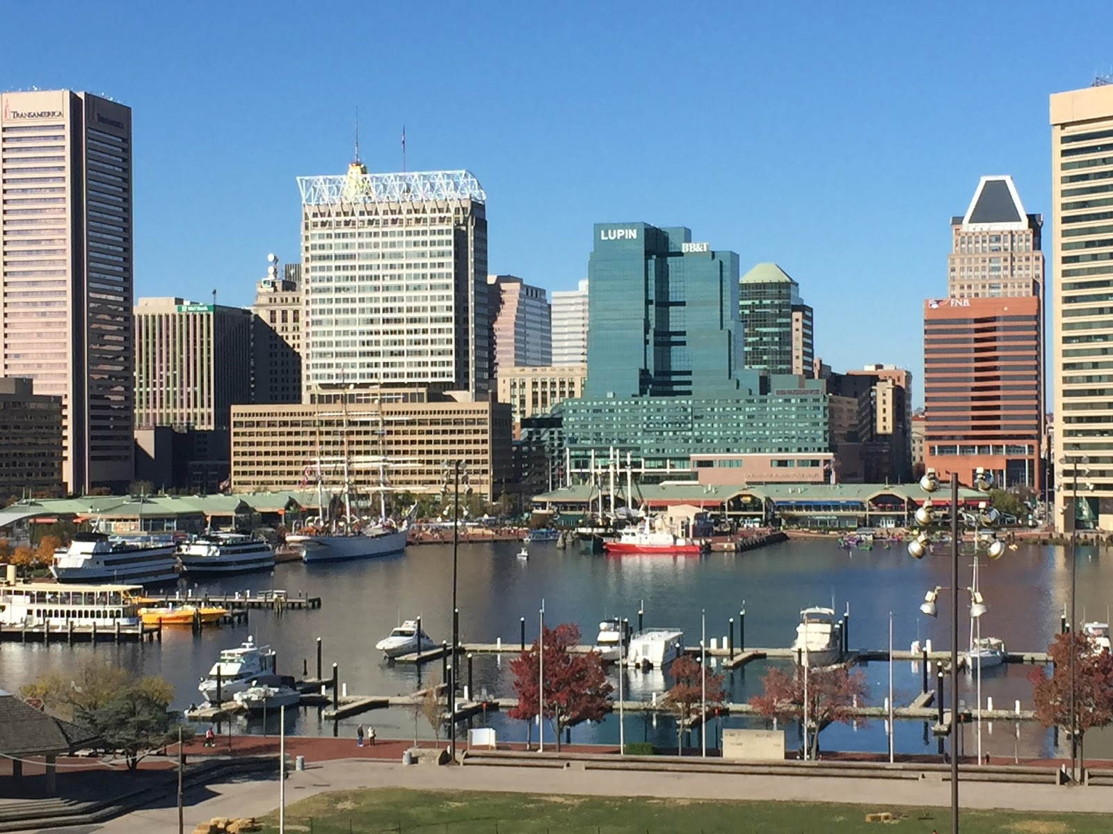 i is for the inner harbor baltimore click here for map