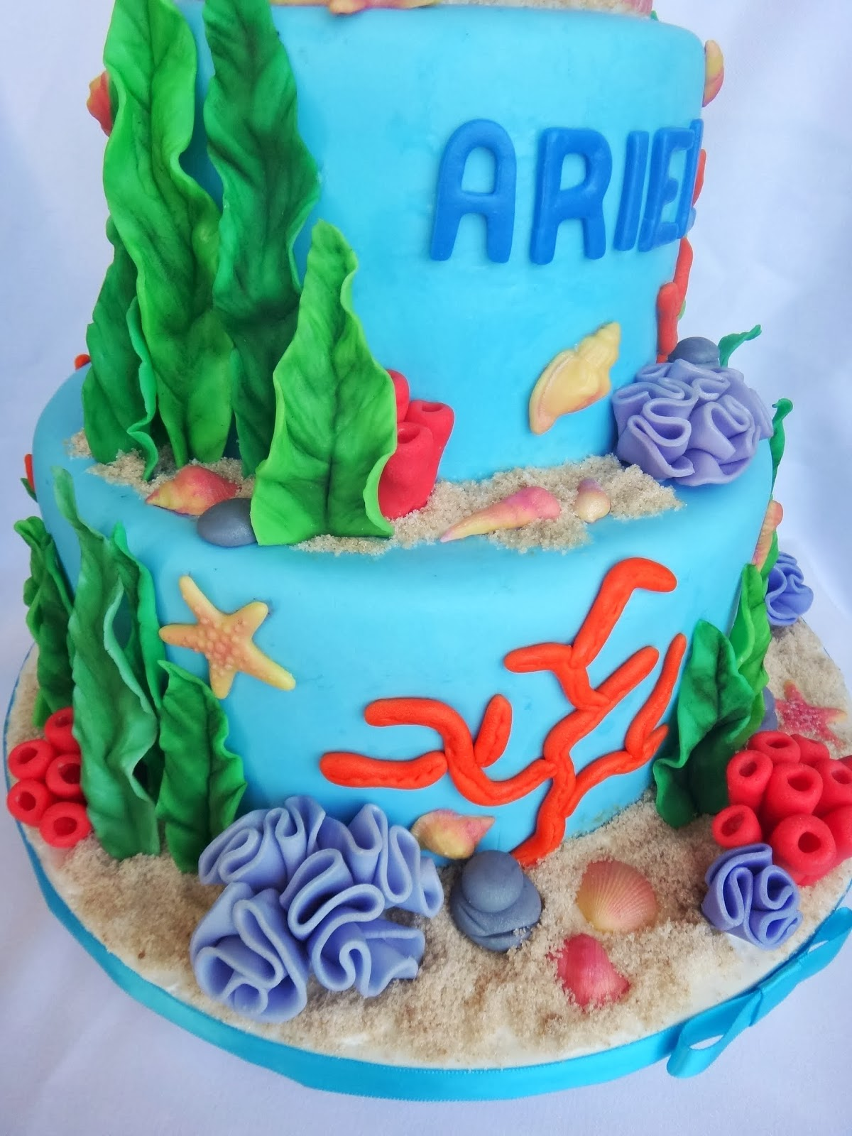 baby little mermaid baby shower little mermaid cake