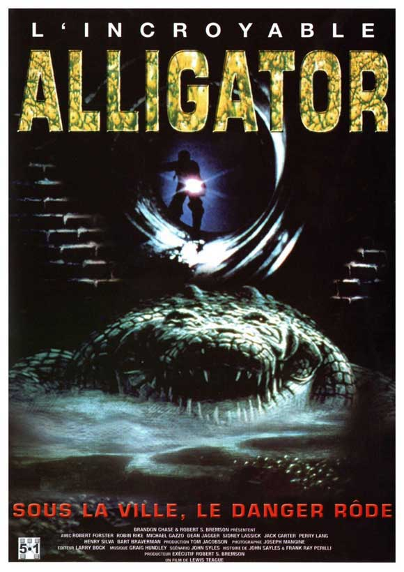 Hindi Dubbed Horror Movie Alligator 1980 DVDRip 480 x265 250MB