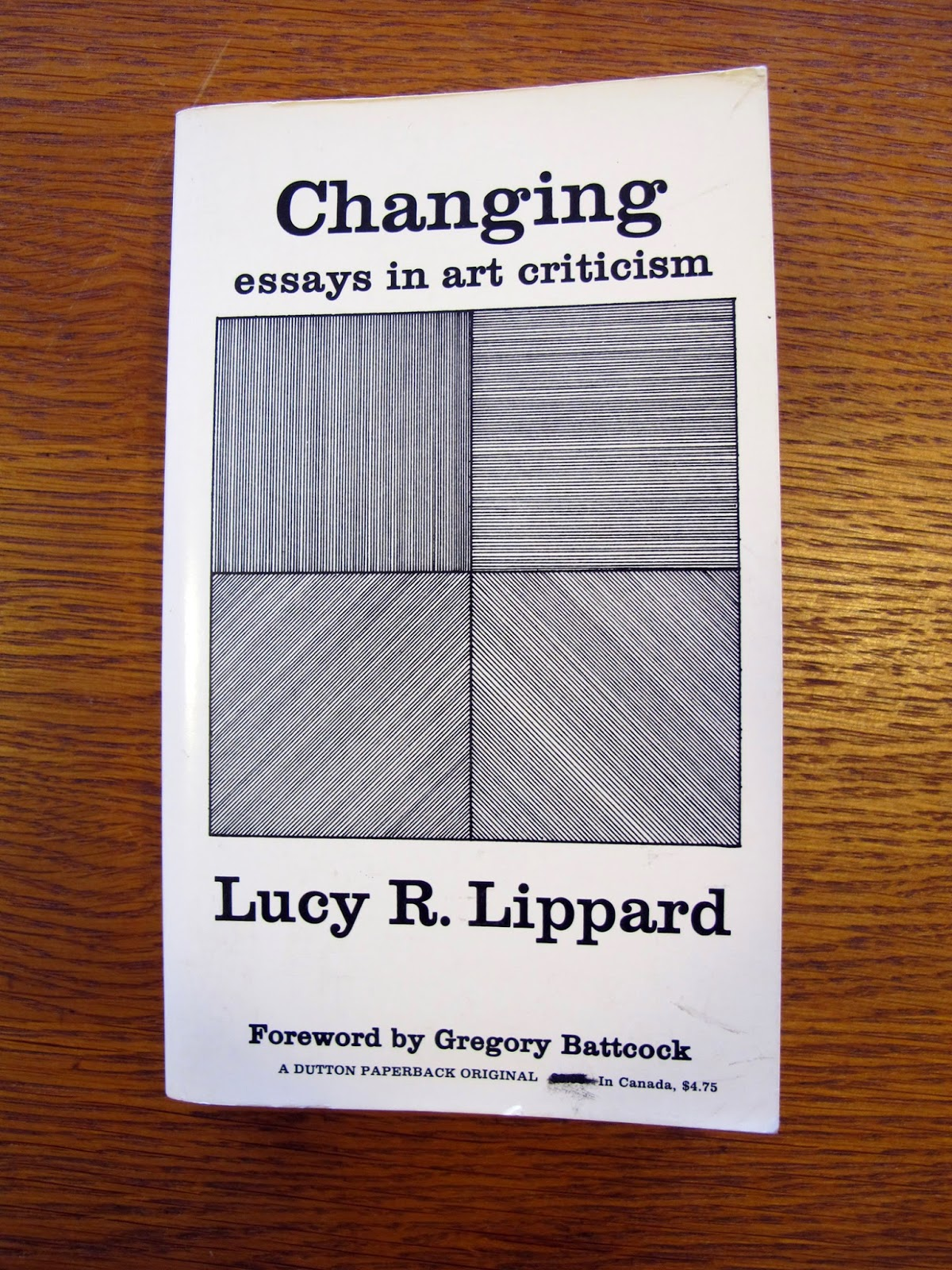 lucy lippard eccentric abstraction essay In their 1968 essay the dematerialization of art, john chandler and lucy r lippard argued that the developments of conceptualism would transform art criticism it opens with selected objects from lippard's post-minimalist exhibition eccentric abstraction (1966), some of which were also.
