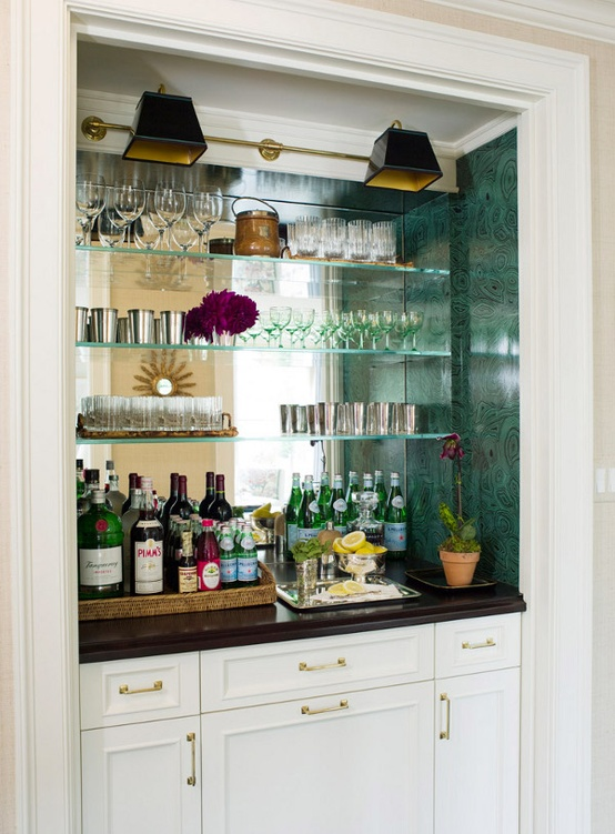 Decorate Your Wet Bar