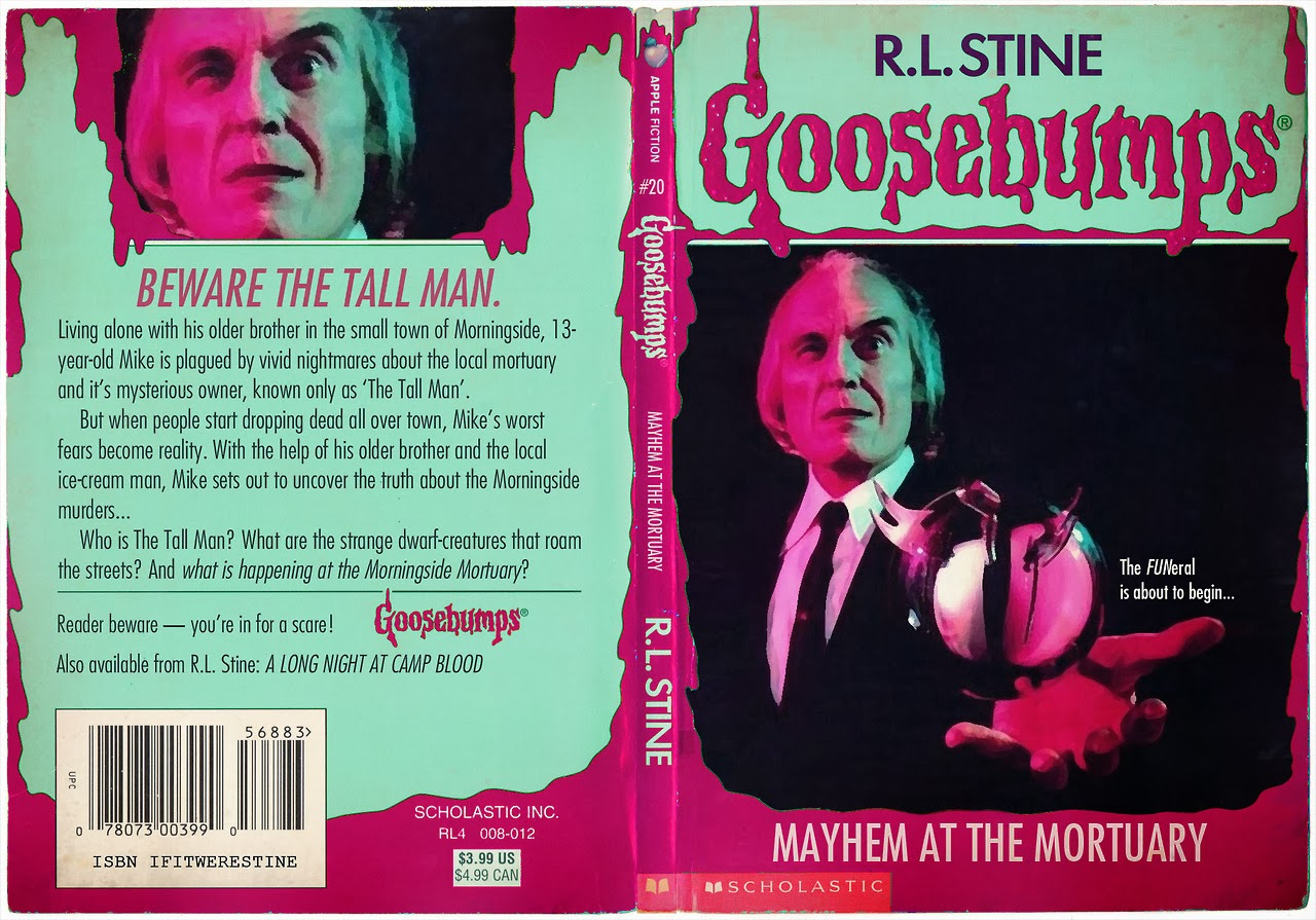 Goosebumps Book Cover Template : The phantasm archives if goosebumps did