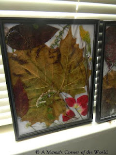 fall collage craft idea at http://www.amamascorneroftheworld.com