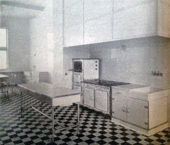 La cuisine et l'office