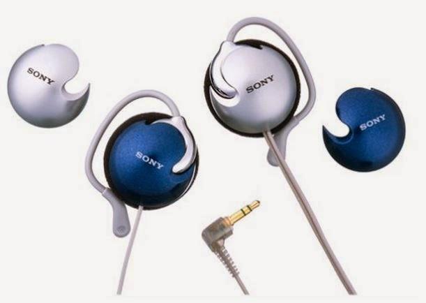Sony Clip On Headphones