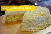 Snow cheese spongecake