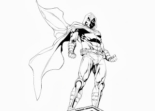 Moon Knight Coloring Pages