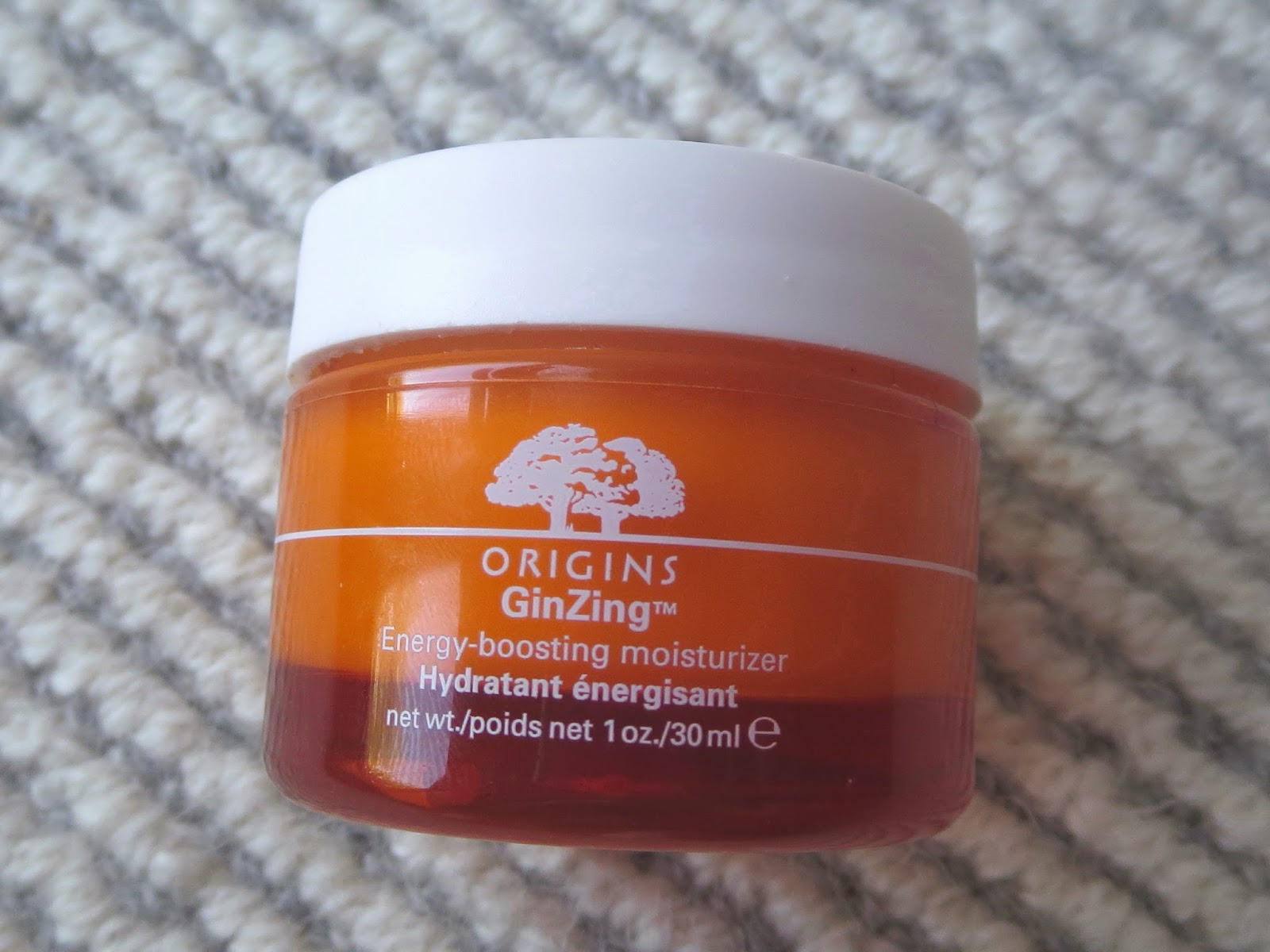 A picture of Origins' GinZing Energy-boosting moisturizer