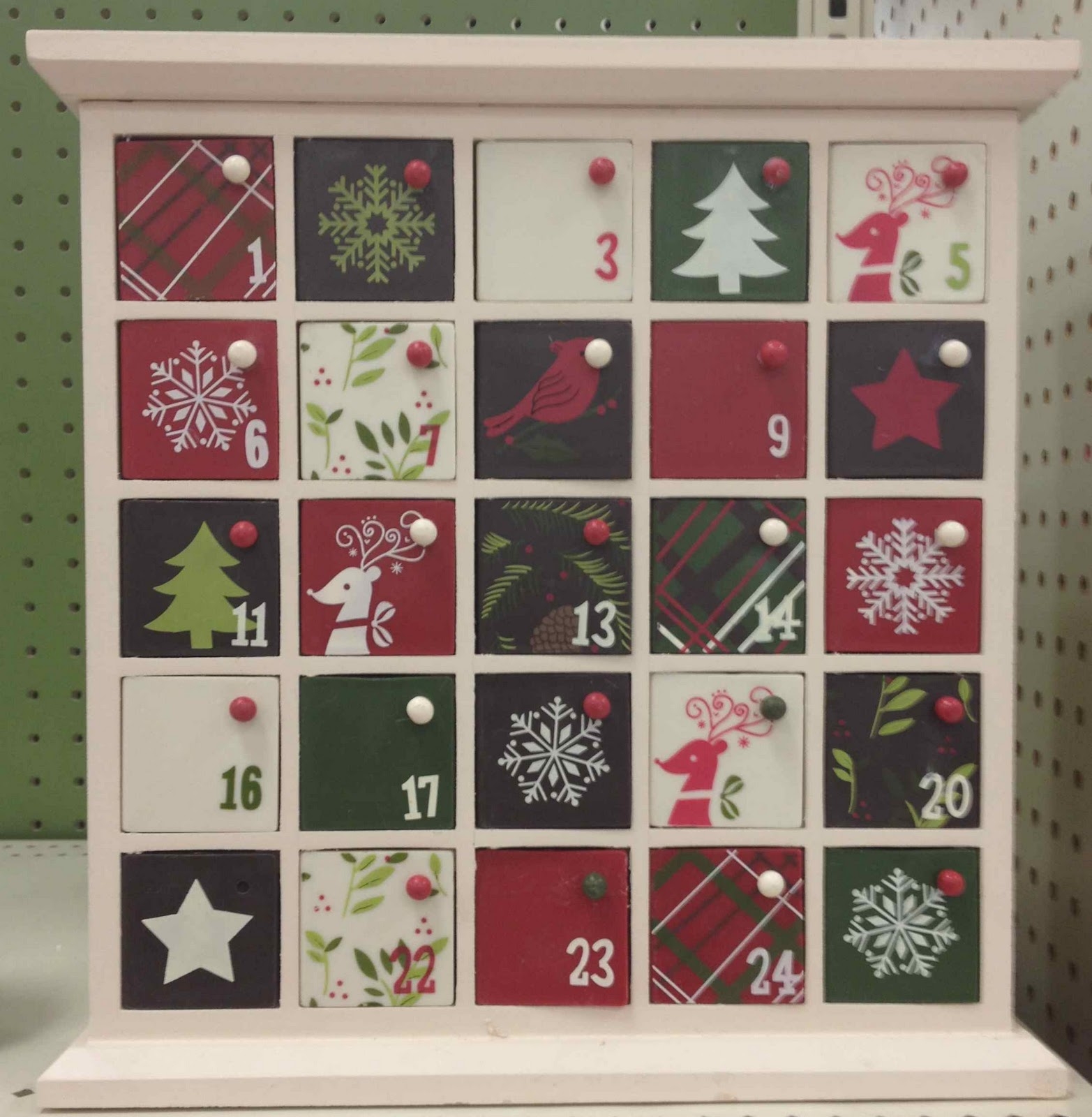Wood Advent Calendar Calendar Template 2016