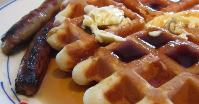 The Shady Porch: Easy Buttermilk Waffles makes breakfast a treat!