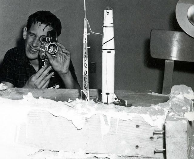 Steven Spielberg age 17 filming Firelight