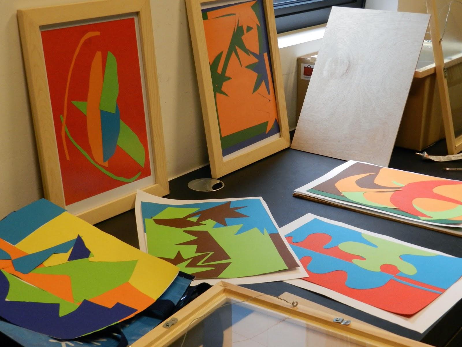 Blog van bibliotheek ieper mini tentoonstelling kleurrijke herfstcollages d academie - Idee bibliotheek ...